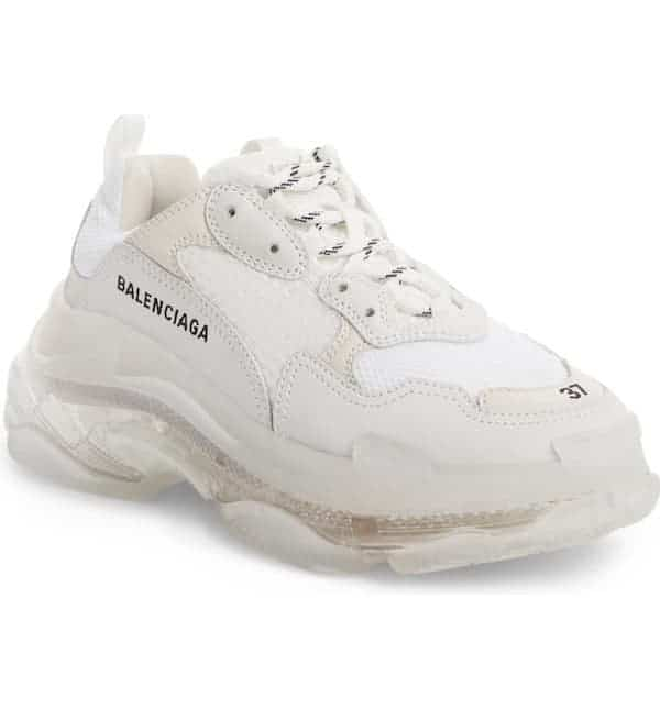 Trendy Gifts in 2020: Chunky white sneakers