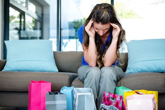 stressed to find gifts for loved ones