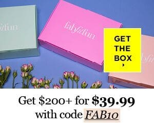 FabFitFun listed as a subscription box that's best for you.